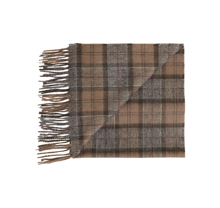 Barbour Tartan Lambswool Scarf Winter Dress