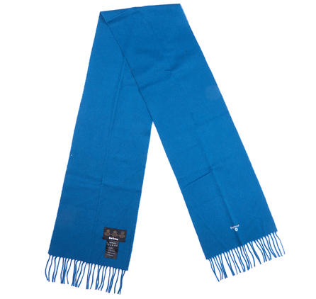 Barbour Plain Lambswool Scarf Teal