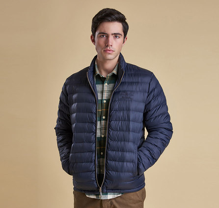 Barbour Templand Quilted Jacket Navy