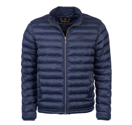 Barbour Templand Quilted Jacket Navy Barbour Heritage: From the Ancient Tartan collection