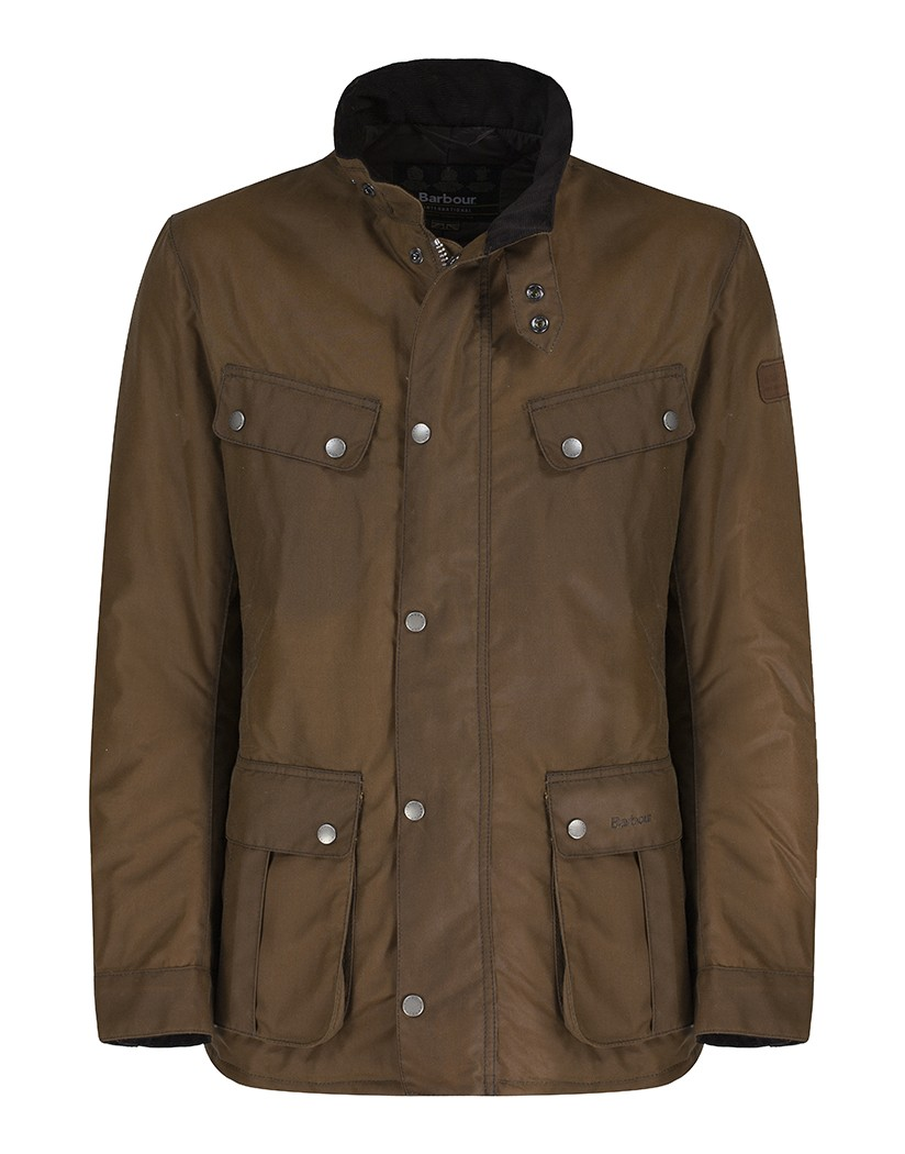 Barbour Duke Waxed Jacket Tan Una prenda actual pero recordando sus orígenes