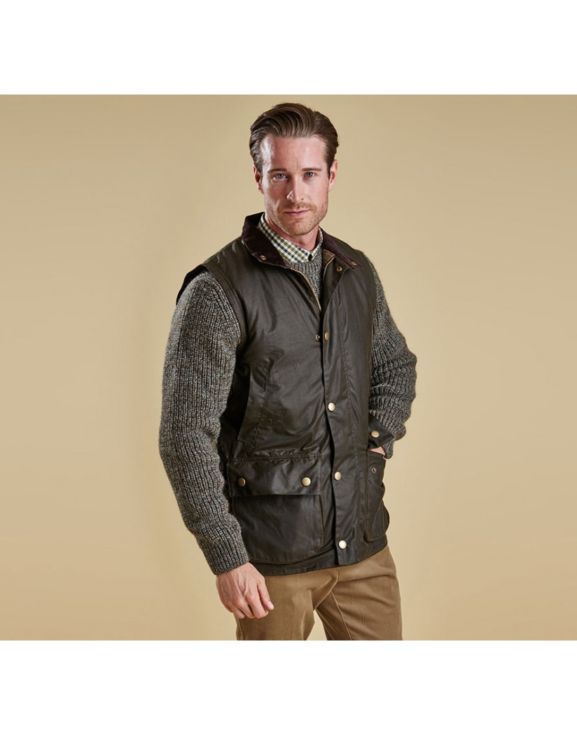 Barbour New Westmorland Waxed Jacket Olive