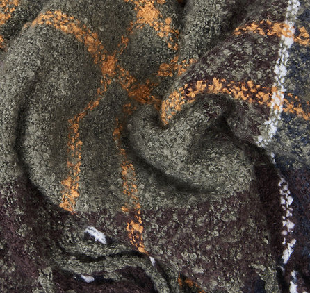 Barbour Tartan Boucle Scarf Classic
