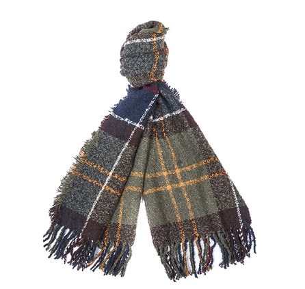 Barbour Tartan Boucle Scarf Classic Barbour Lifestyle: From the Winter Tartan collection