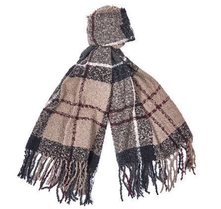 Barbour Tartan Boucle Scarf Winter Dress Barbour Lifestyle: From the Winter Tartan collection