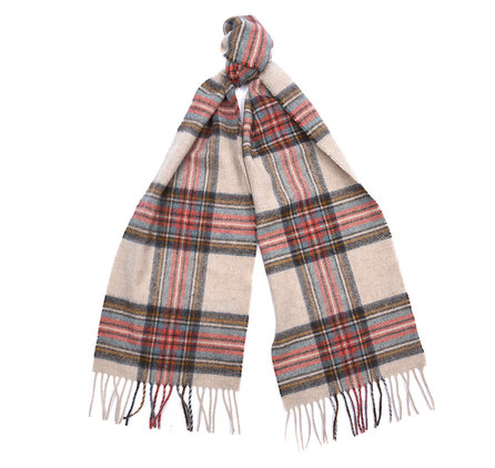 Barbour Country Check Scarf Cream Barbour Lifestyle: From the Classic collection