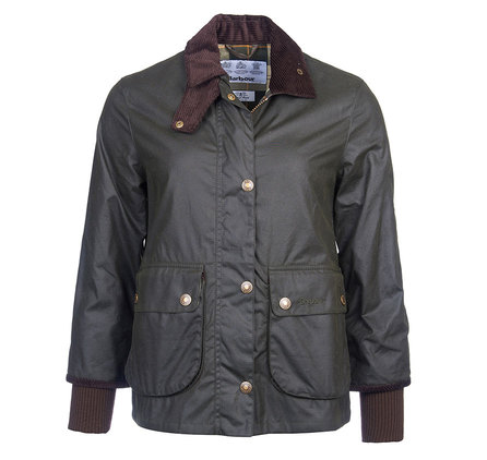 Barbour Barbour Cropped Border Wax Jacket Barbour Heritage: From the Timeless Originals collection