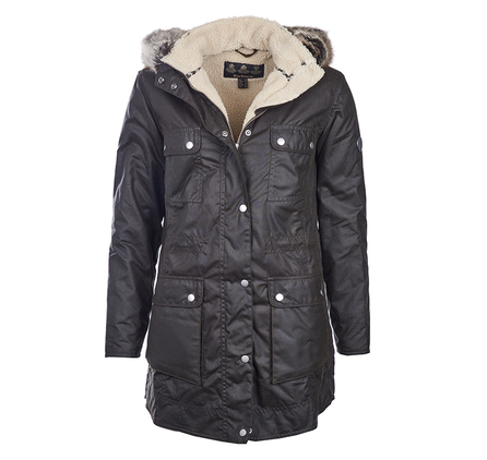 Barbour Carribena Wax Jacket Olive Barbour Lifestyle: From the Spirit of Adventure collection