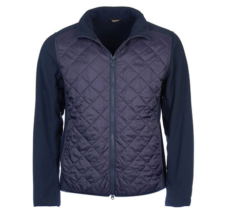 Barbour Trefoil Fleece Jacket Navy Barbour Lifestyle: From the Weather Comfort collection