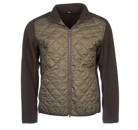 Barbour Trefoil Fleece Jacket Olive Barbour Lifestyle: From the Weather Comfort collection