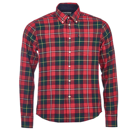 Barbour Alvin Tailored Regular Fit Shirt Red Barbour Lifestyle: From the Core Essentials collection