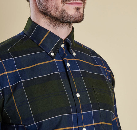 Barbour Lustleigh Tailored Shirt Forest