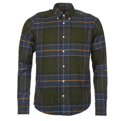 Barbour Lustleigh Tailored Shirt Forest Barbour Lifestyle: From the Classic Tartan collection