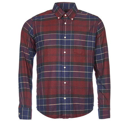 Barbour Lustleigh Tailored Shirt Merlot Barbour Lifestyle: From the Classic Tartan collection