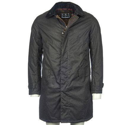 Barbour Nairn Wax Jacket Navy Barbour Lifestyle: From the Classic Tartan collection
