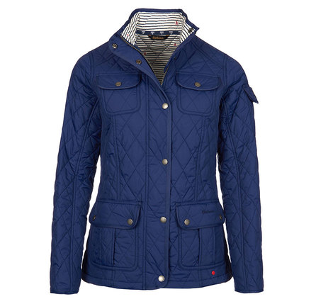 Barbour Barbour Buryhead Quilted Jacket Naval Blue Barbour Lifestyle: From the Seafarer collection