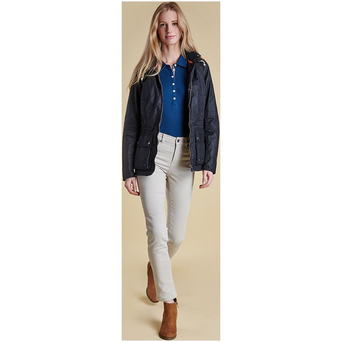 Barbour Barbour Essential Slim Trousers Silver Ice Barbour Lifestyle: From the Essentials collection
