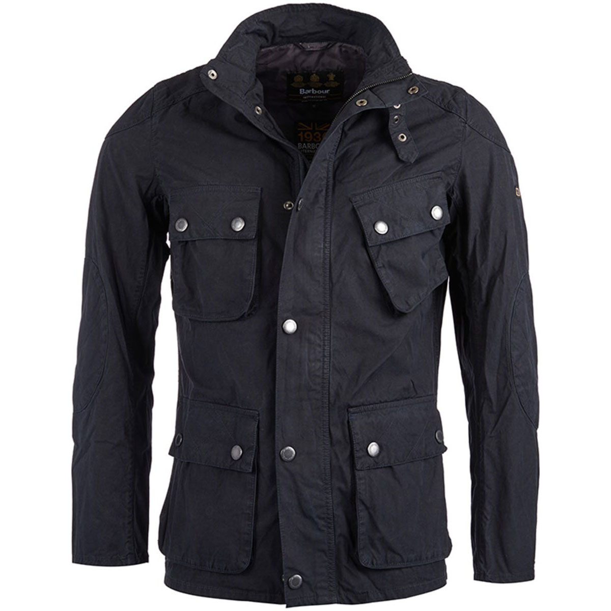 B.Intl Smokey Jacket Navy Barbour International: From the Ride to the Sun collection