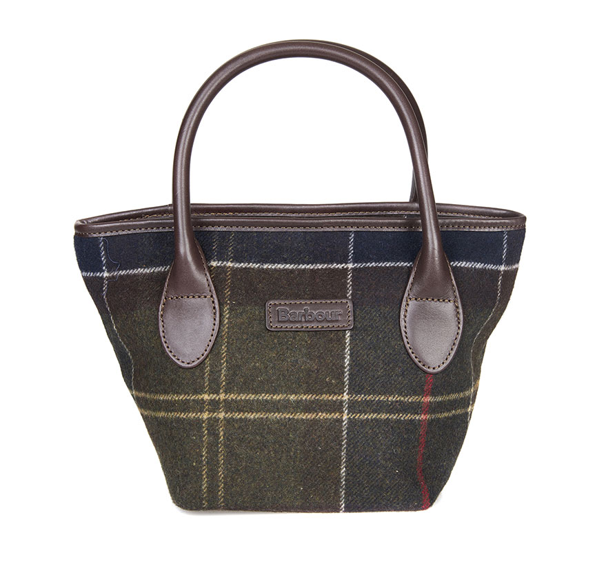 BarbourTartan Mini Classic Barbour Lifestyle: From the Winter Tartan Collection