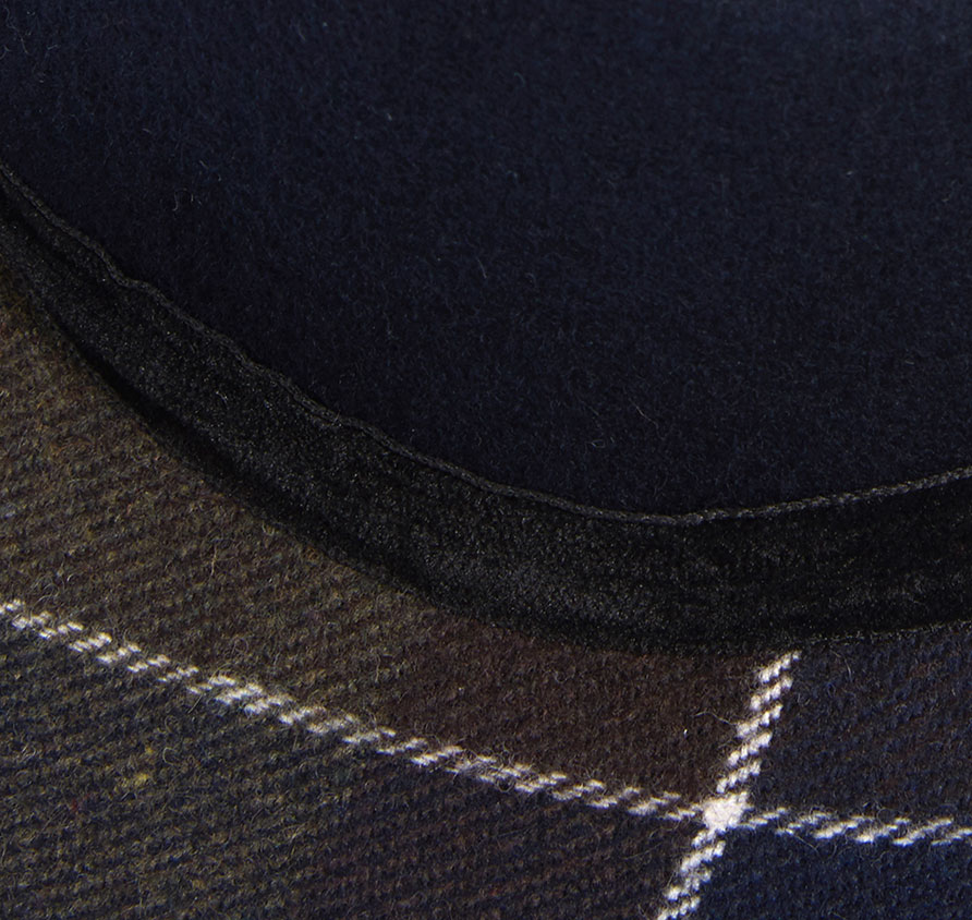 Barbour Thornhill Fedora Navy