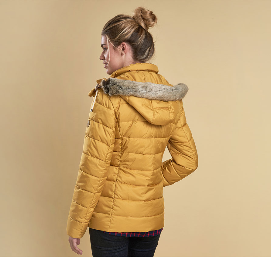 Barbour Shipper Quilt Gold