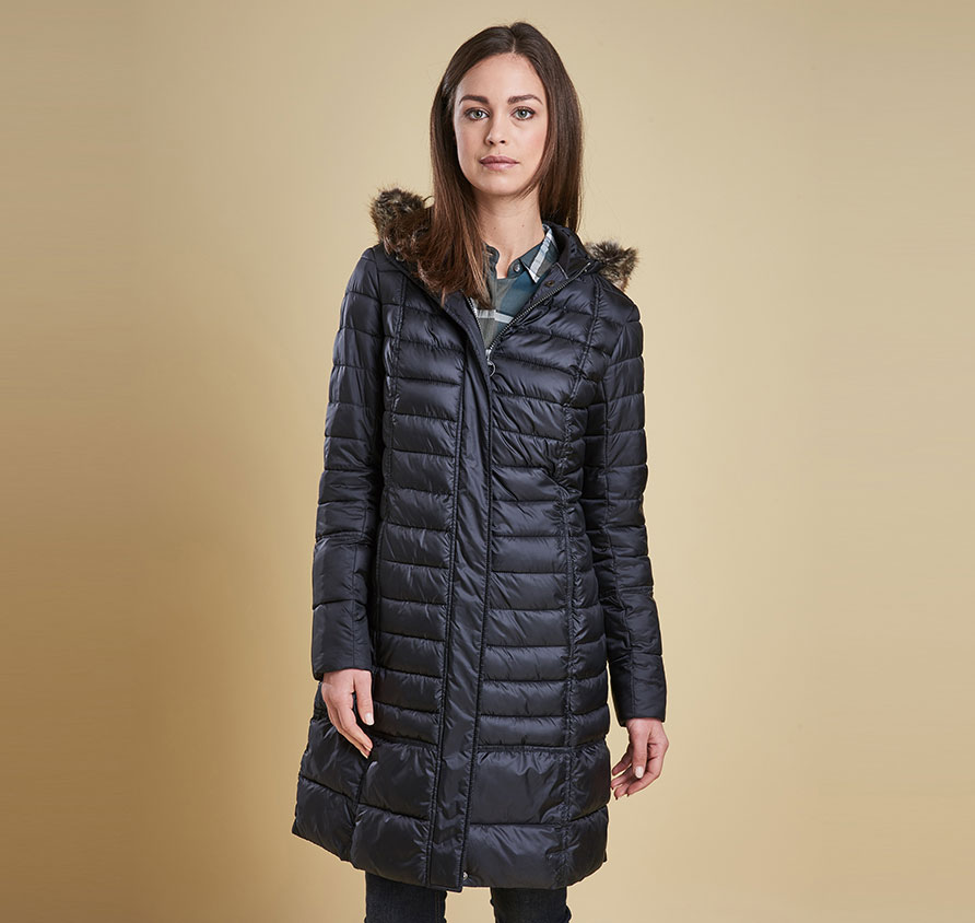 Barbour Fortrose Quilted Jacket Black