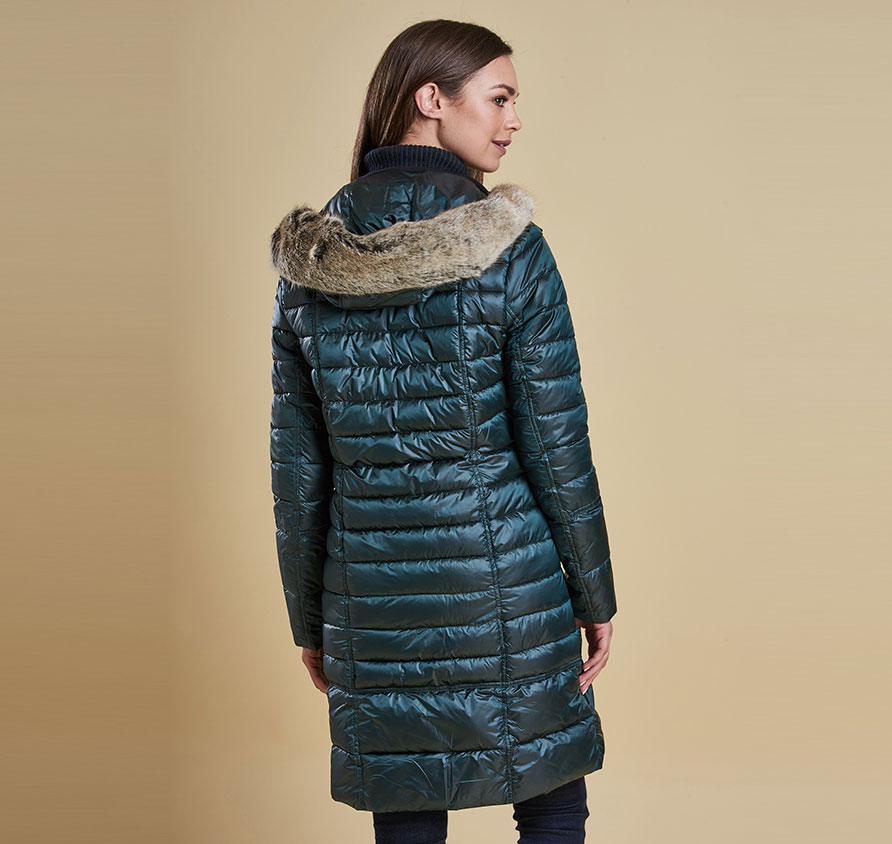Barbour Fortrose Quilted Jacket Emerald