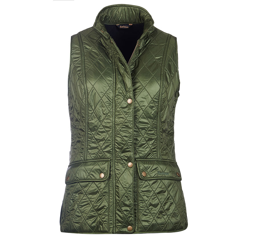 Barbour Wray Gilet Kelp Fit Regular