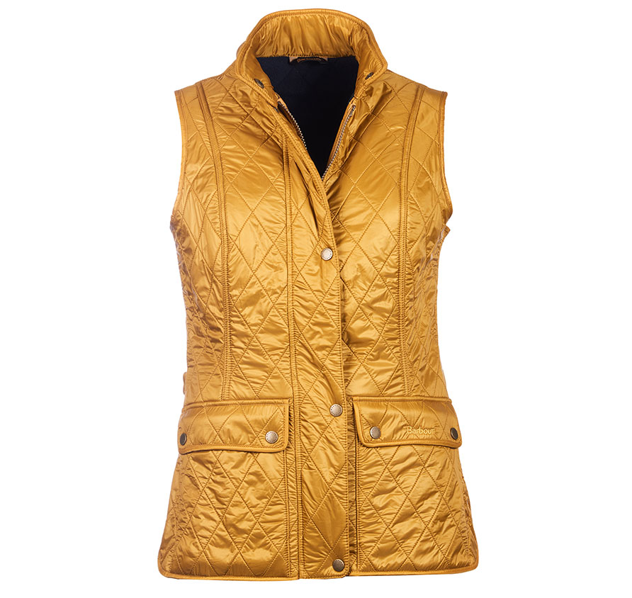 Barbour Barbour Wray Gilet Yellow Fit Regular