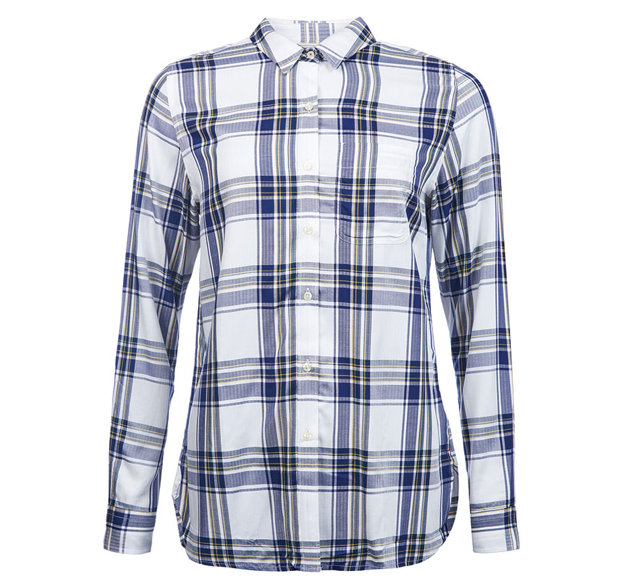 Barbour Newton Shirt Cloud Barbour Lifestyle: From the Classic collection
