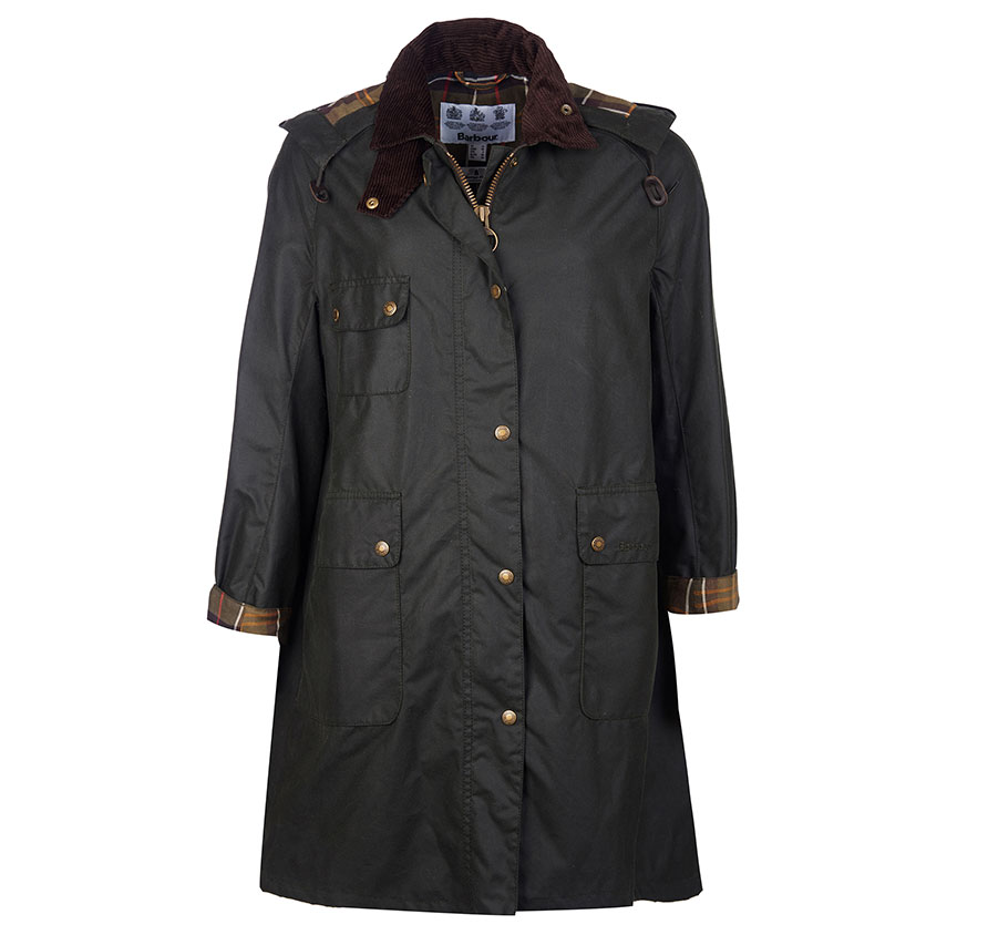 Barbour Solway Wax Jacket Barbour Lifestyle:From the Winter Tartan collection