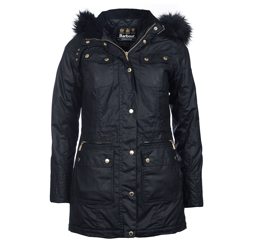 Barbour Barbour Mallory Jacket Black Barbour Interntaional