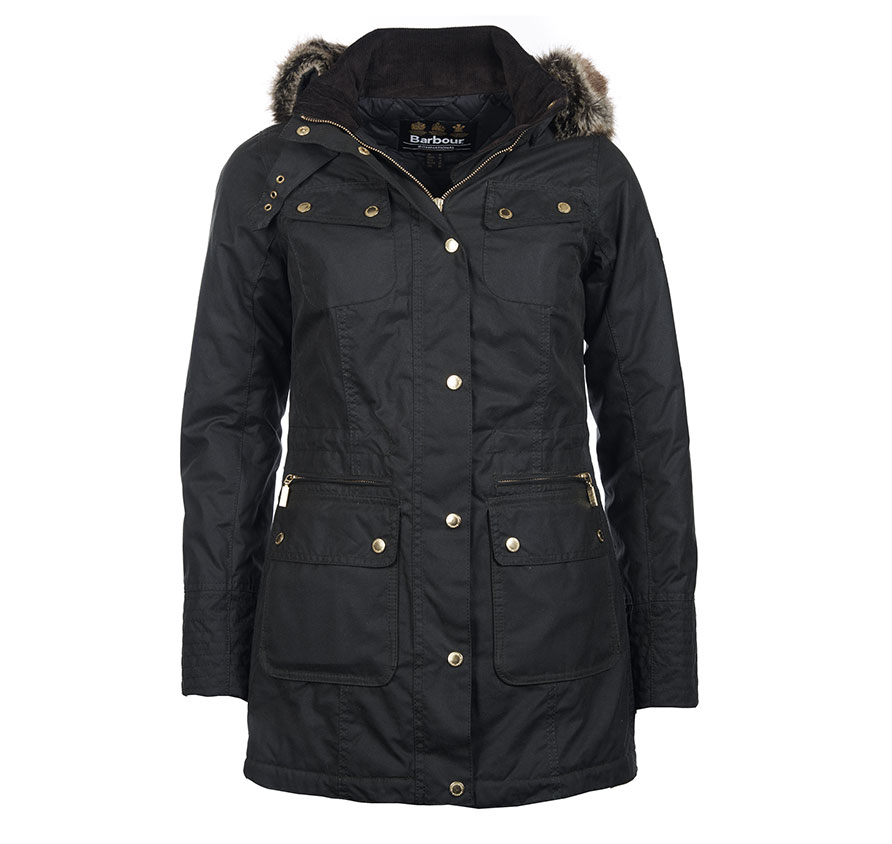 Barbour Barbour Mallory Jacket Sage Barbour Interntaional