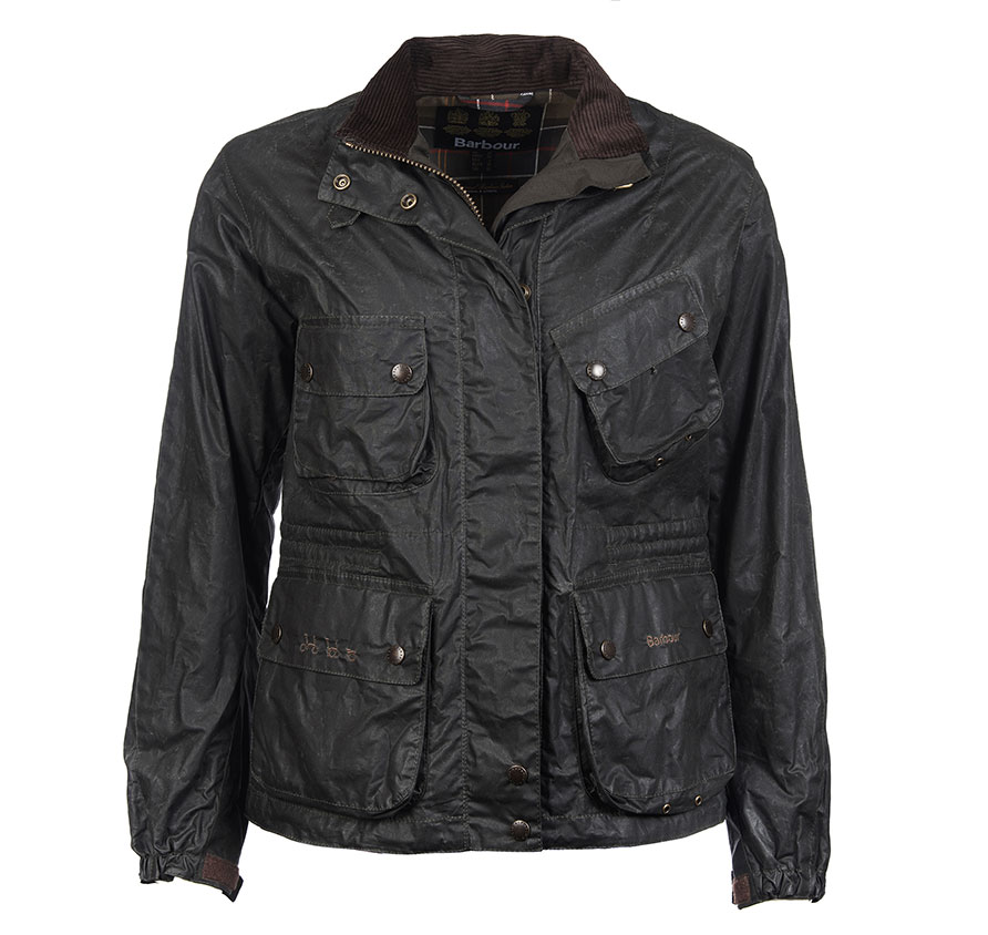 Barbour Bromley Jacket Sage Barbour Lifestyle