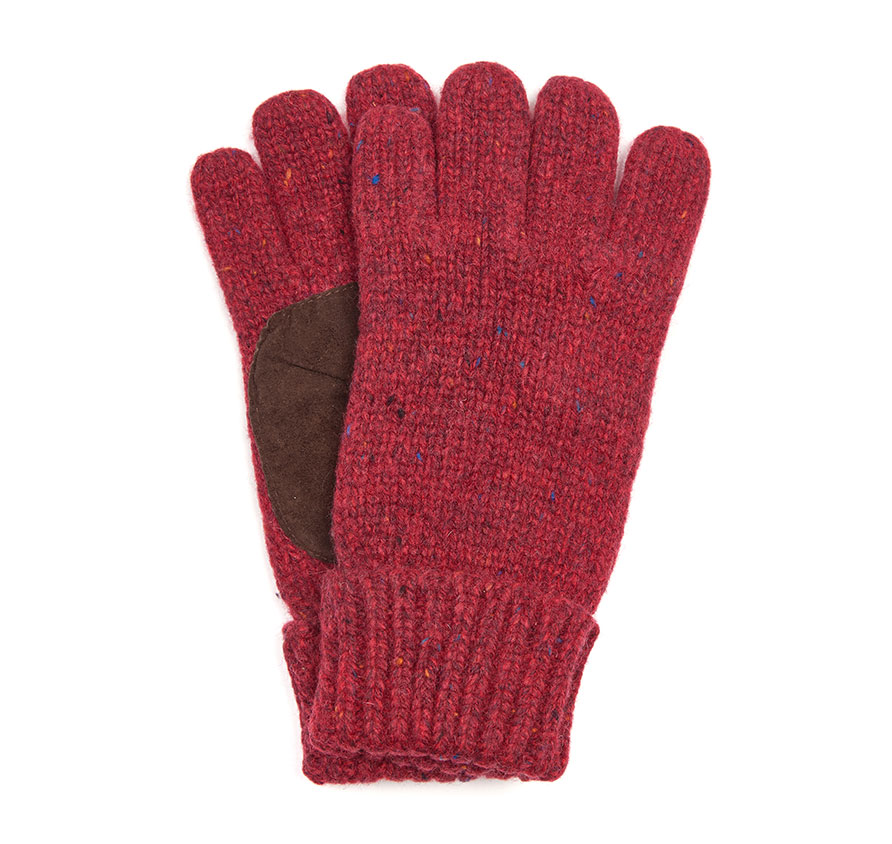 Barbour Whitfield Gloves Red Barbour Lifestyle