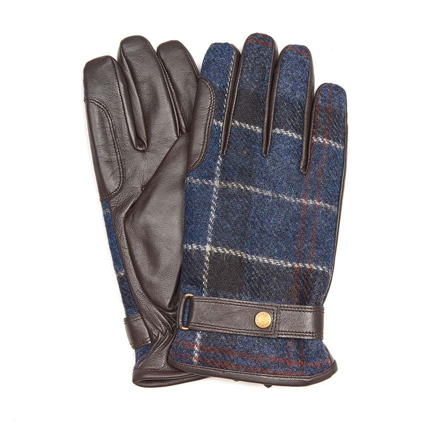 Barbour Newbrough Gloves Navy
