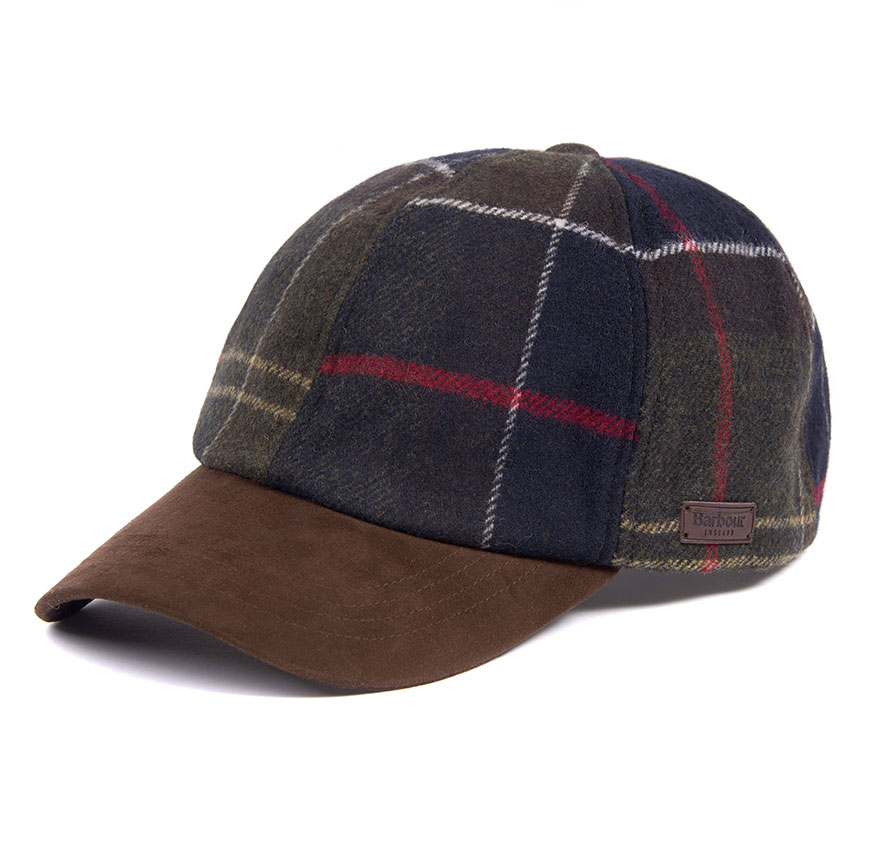 Barbour Tartan Dotterel Sports Cap