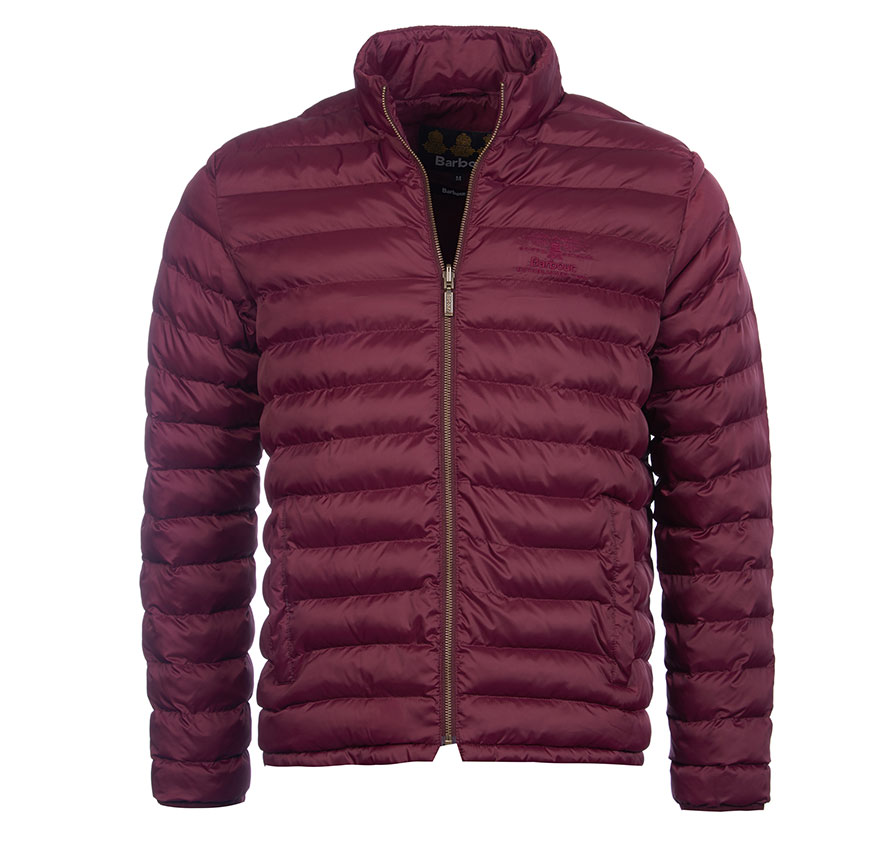 Barbour Templand Quilted Jacket Bordeaux Barbour Heritage: From the Ancient Tartan collection