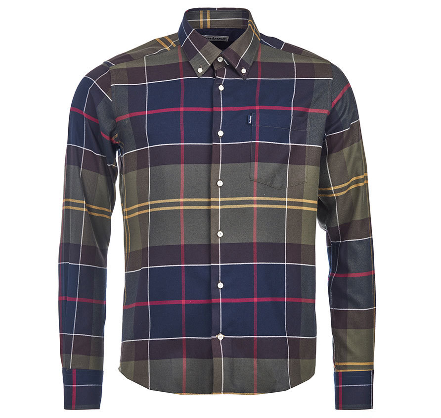 Barbour John Shirt Classic Barbour Lifestyle: From the Core Essentials collection