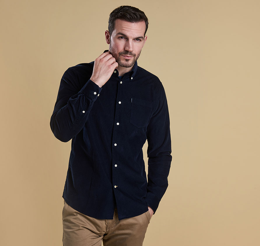 Barbour Morris Shirt Navy