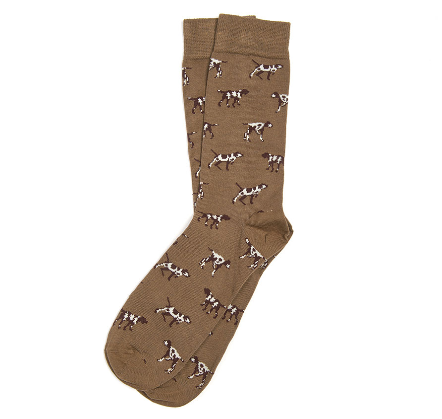 Barbour Pointer Socks Olive