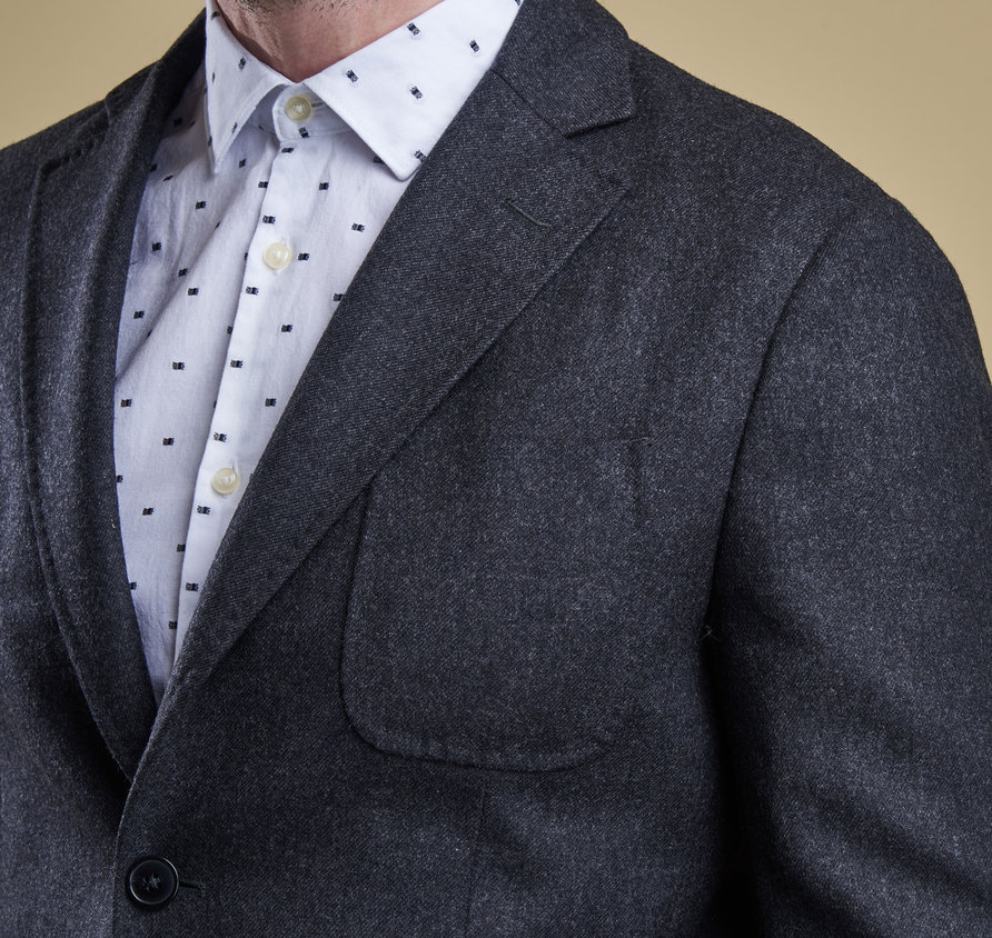 Barbour Kentmere Tailored Jacket Charcoal