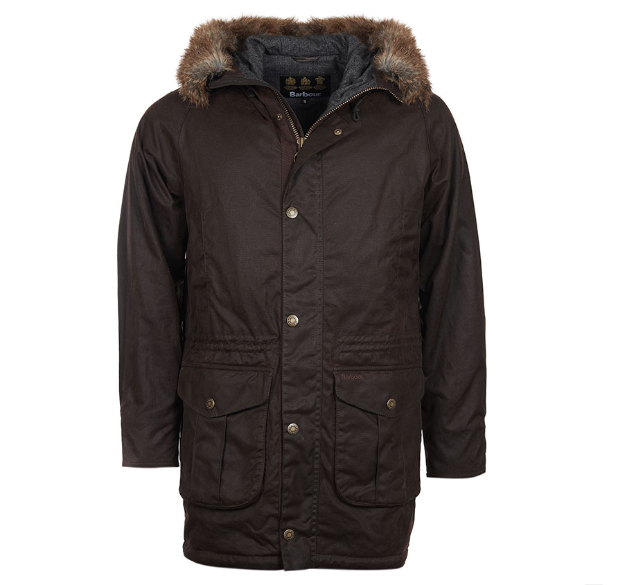 Barbour Gisburne Wax Navy Barbour Lifestyle