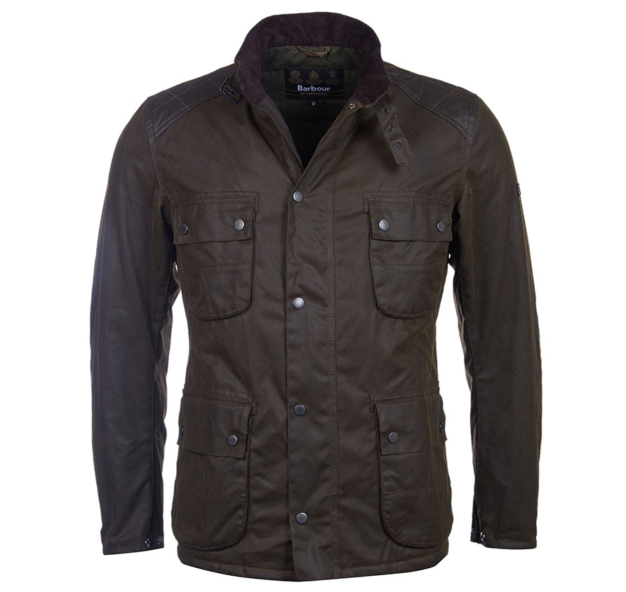 Barbour Weir Wax Oliva Barbour Lifestyle: Regular Fit
