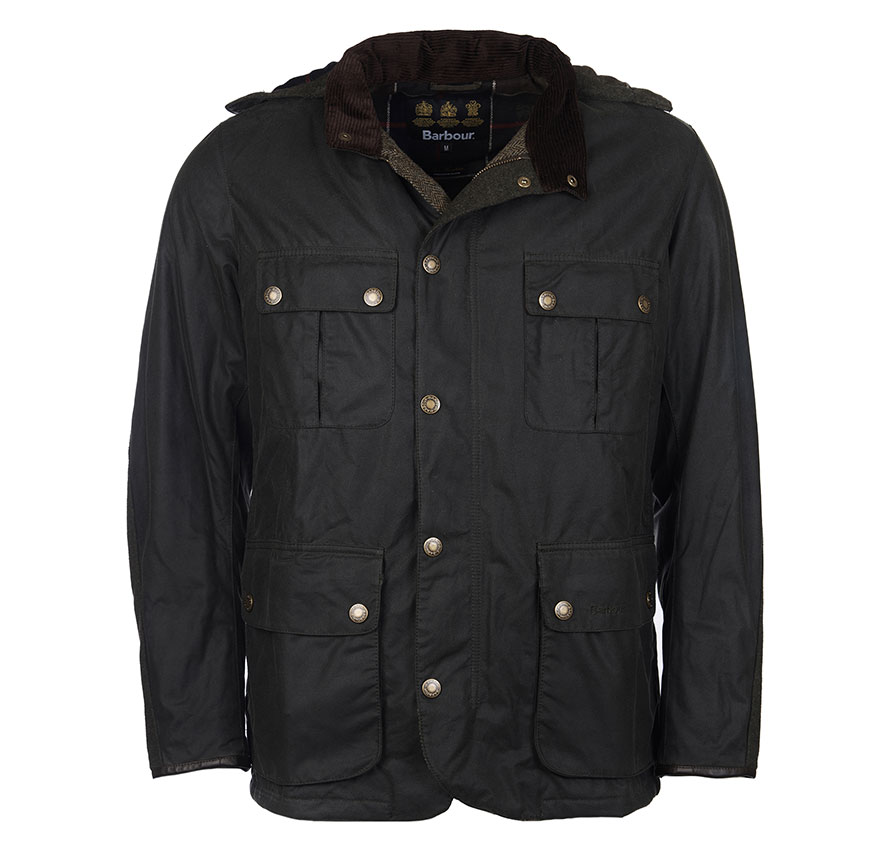 Barbour Spynie Wax Sage Barbour Lifestyle Regular Fit