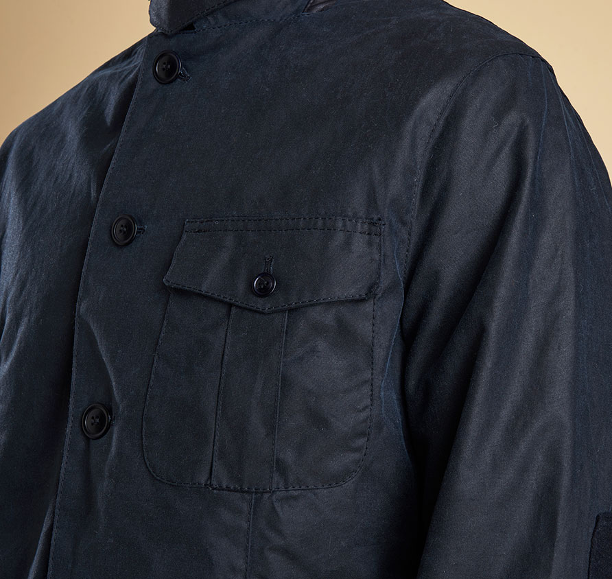 Barbour Dalkeith Wax Navy