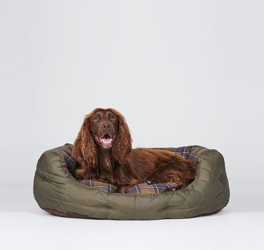 Barbour Medium Quilted Dog Bed 30´´ Barbour Lifestyle: From the Classic Collection