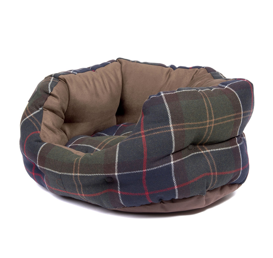 Barbour Luxury Dog Bed 18inch Classic