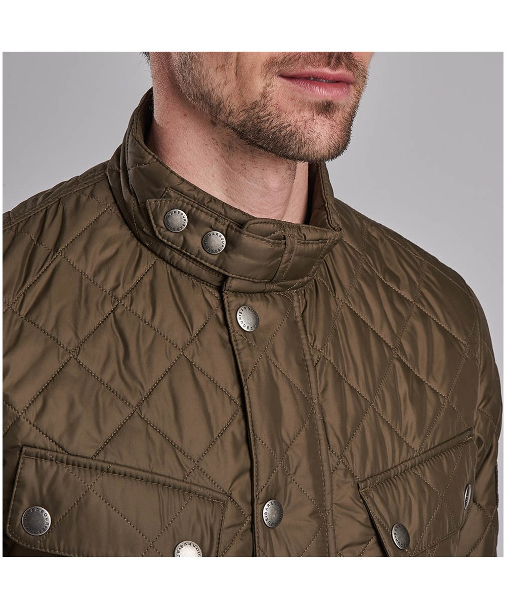 Barbour Ariel Quilted Jacket Oliva