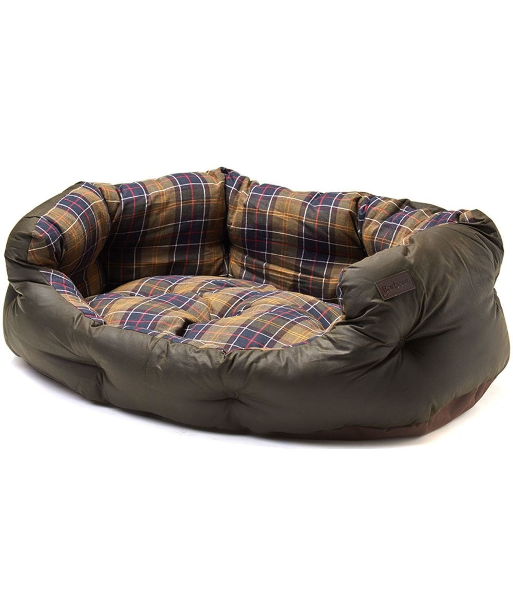 Barbour Wax Cotton Bed Large